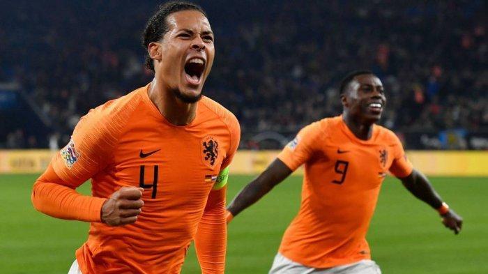 Susunan Pemain Belanda Vs Jerman - Menunggu Gol Keempat Van Dijk ke Gawang Manuel Neuer