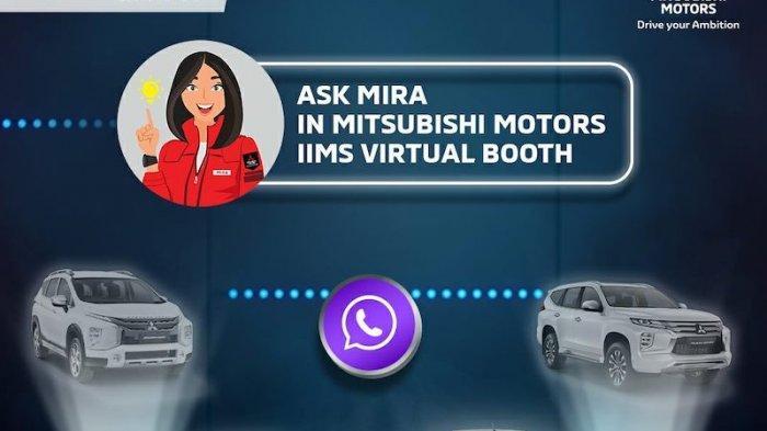 Mitsubishi Permudah Akses Konsumen di IIMS Hybrid 2021 via Virtual Assistance MIRA