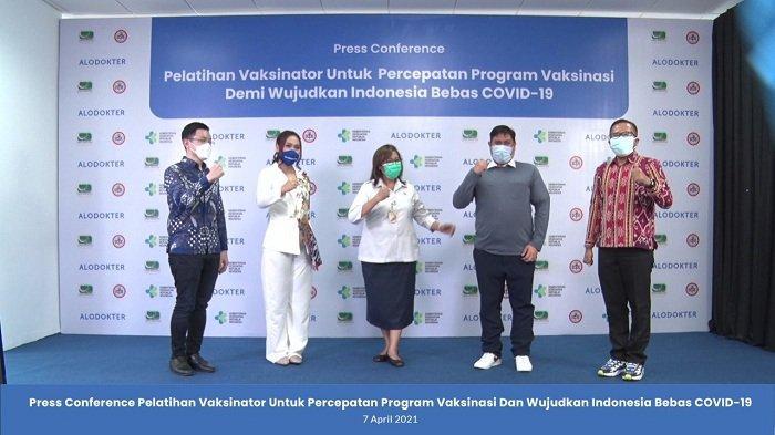 Dinkes DKI Optimis Pelatihan Vaksinator Secara Virtual Bisa Pulihkan Kesehatan Masyarakat