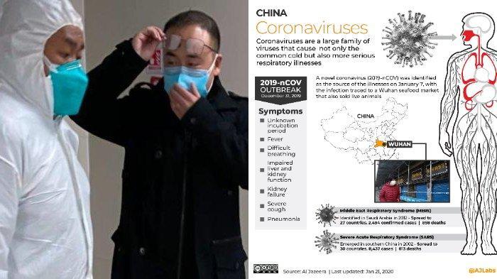 Capai 2077 Kasus, Ini Penjelasan Lengkap Tentang Virus Corona, Penyebab, Gejala hingga Penularannya