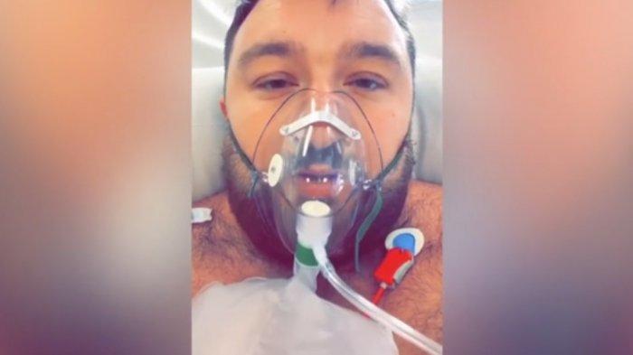 Awalnya Menganggap Virus Corona hanya Omong Kosong, Pria Ini Kini Terbaring di RS dengan Ventilator