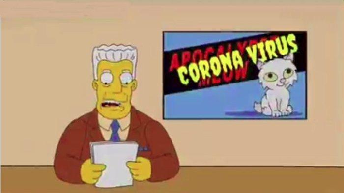 Benarkah Serial Animasi The Simpsons Telah Memprediksi Virus Corona? Cek Faktanya di Sini!