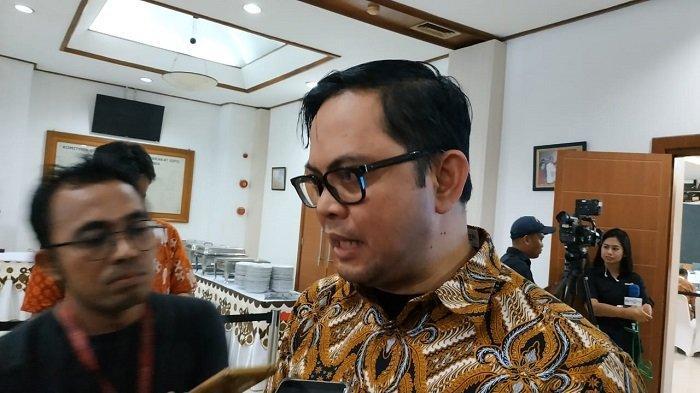 Komisioner KPU RI Viryan Azis di KPU RI, Jakarta Pusat, Jumat (10/5/2019).