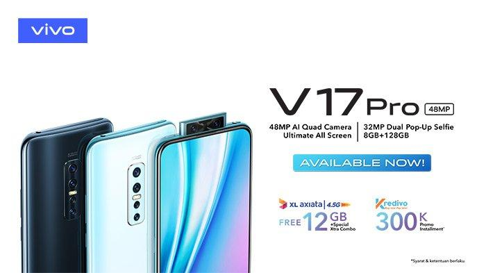 Harga HP Vivo Terbaru November 2019, Vivo Y91C Hanya Rp 1,4 Jutaan, V17 Pro Rp 5,7 Juta