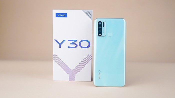 Smartphone vivo Y30.