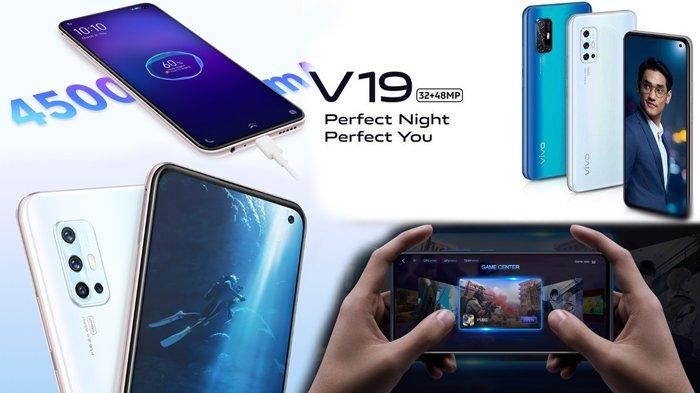 Daftar Harga HP Vivo Maret 2020: Seri TerbaruVivo V19 Rp4,3 Juta