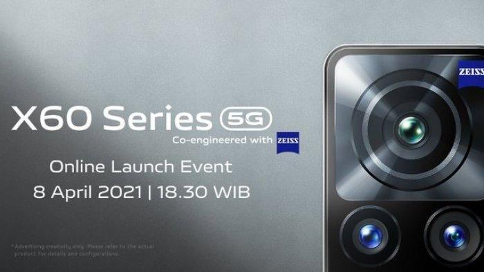 Vivo X60 akan resmi dijual di Tanah Air pada 8 April 2021
