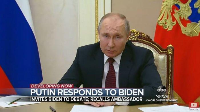 Vladimir Putin merespons pernyataan Biden yang menyebutnya pembunuh
