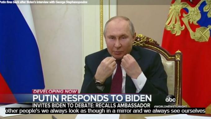 Presiden AS Joe Biden Menolak Berdampingan dengan Presiden Rusia Vladimir Putin Saat Jumpa Pers