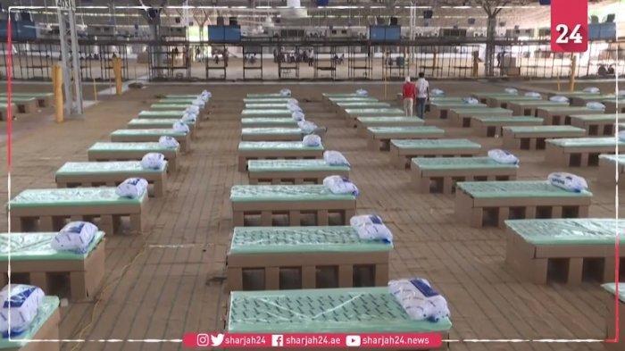 India Olah Kardus Jadi Kasur Rumah Sakit untuk Pasien Corona