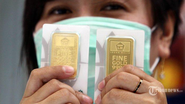 Harga Emas Antam Hari Ini Turun Rp 8.000 ke Level Rp 922 Ribu Per Gram
