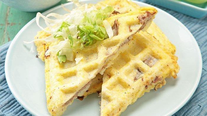 Waffle Nasi