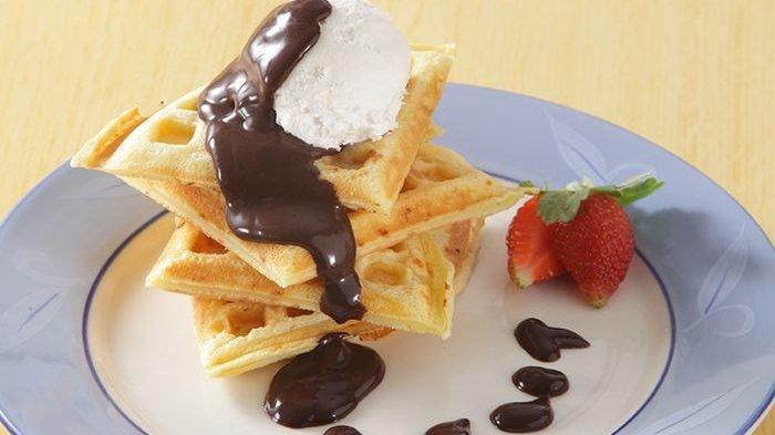 Resep Waffle Saus Cokelat Enak dan Mudah Dibuat, Simak Bahan-bahan dan Cara Membuatnya