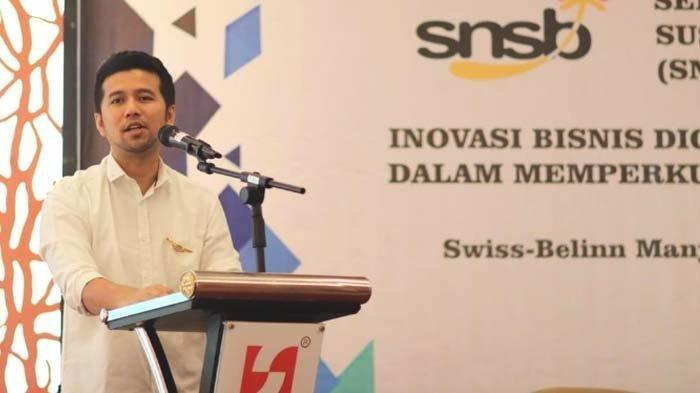 Wagub Jatim Emil Dardak menjadi Keynote Speech Seminar Nasional Sustainable Business (SNSB) 2019 di Hotel Swissbell Inn Surabaya, Kamis (18/7/2019).