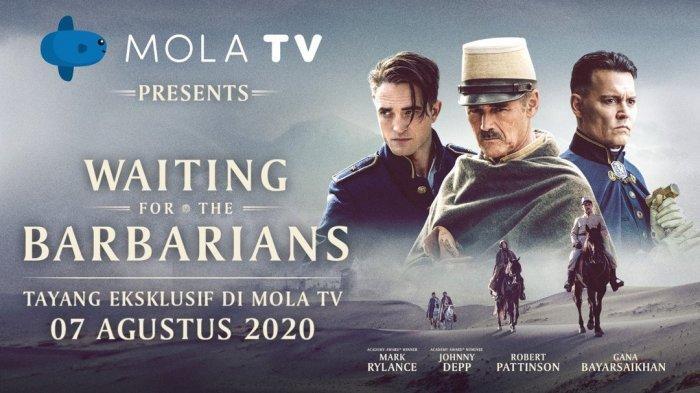 """""""Waiting for the Barbarians"""" yang dirilis secara serentak di seluruh dunia pada 7 Agustus 2020, di mana Mola TV akan menayangkannya secara eksklusif di Indonesia pada tanggal yang sama."""