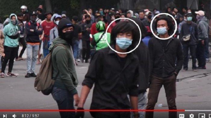 Polisi Buru Pelaku Pembakaran Halte Sarinah yang Fotonya Viral di Media Sosial