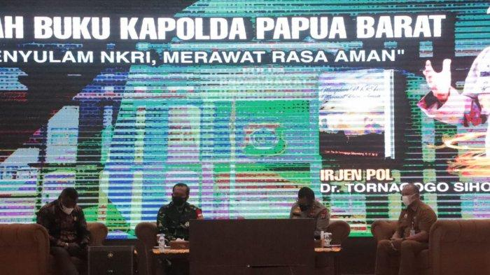 Bedah Buku Kapolda Papua Barat, Tanah Papua Mozaik Indonesia yang Perlu Dirawat