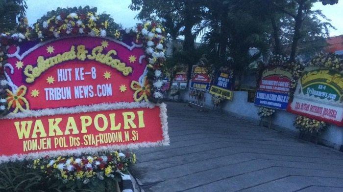 Wakapolri Ucapkan Selamat HUT ke8 Tribunnews.com