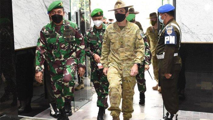 Wakil KSAD dan Panglima Justin Ellwood Bahas Pengembangan Kerja Sama AD Indonesia-Australia