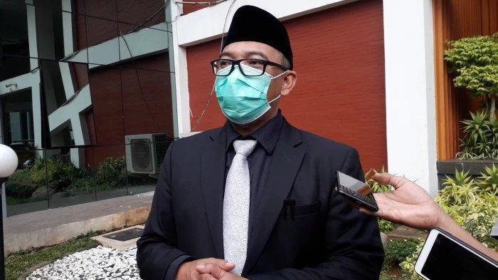 Wakil Bupati Bogor Iwan Setiawan saat ditemui TribunnewsBogor.com di depan Gedung DPRD Kab Bogor, Cibinong, Rabu (18/11/2020).