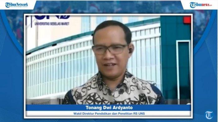 Wakil Direktur Pendidikan dan Penelitian RS UNS, dr Tonang Dwi Ardyanto