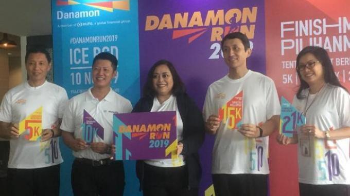 Dihelat 10 November, Danamon Run 2019 Targetkan 6.000 Peserta