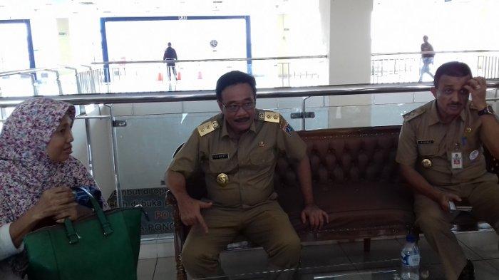 Usai ke Kantor Kecamatan Cakung, Djarot Sidak ke Terminal Pulo Gebang