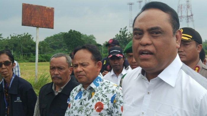 Wakapolri Tinjau Lokasi Pembangunan Universitas Islam Internasional Indonesia di Depok