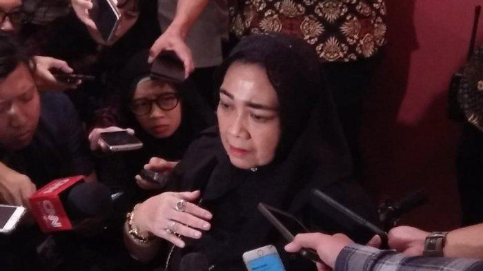 Wakil Ketua Dewan Pembina Gerindra Rachmawati Soekarnoputri, di Hotel Grand Sahid Jaya, Jakarta, Senin (12/8/2019).