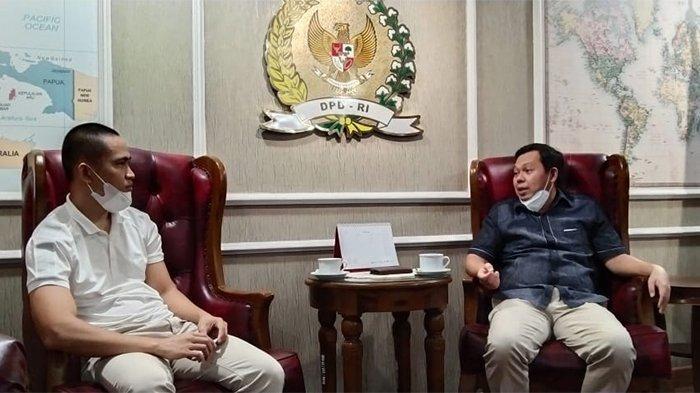 Sultan B Najamudin dan Pemilik BSM Bicara Peluang Pemuda Dalam Memasuki Dunia Usaha.