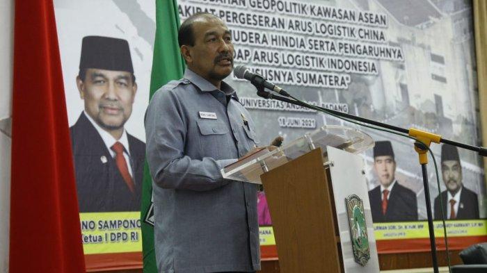 Wakil Ketua DPD RI Nono Sampono Berikan Kuliah Umum di Universitas Andalas Padang