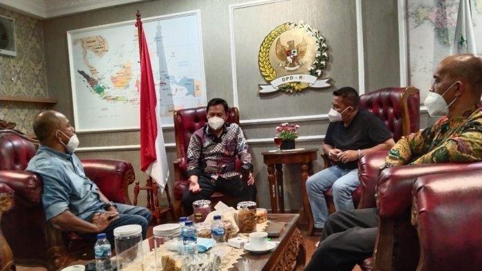 Bertemu Ketua umum FKMB, Pimpinan DPD RI: Tegakkan Marwah Minang di Seluruh Nusantara.