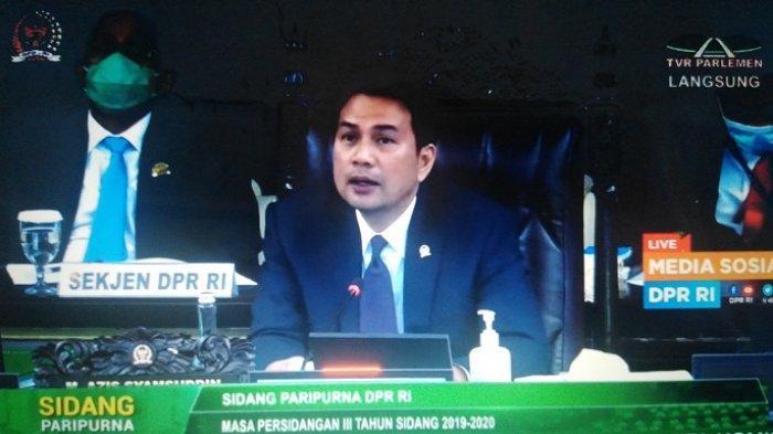 Hindari Kerumunan, Pimpinan DPR Minta Pendaftaran Paslon Pilkada Disiarkan Langsung Lewat Medsos