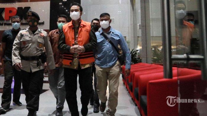 Tersangka Wakil Ketua DPR Azis Syamsuddin Tadi Malam Langsung Dijebloskan ke Rutan Polres Jaksel