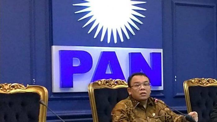 Wakil Ketua Fraksi PAN Saleh Partaonan Daulay.