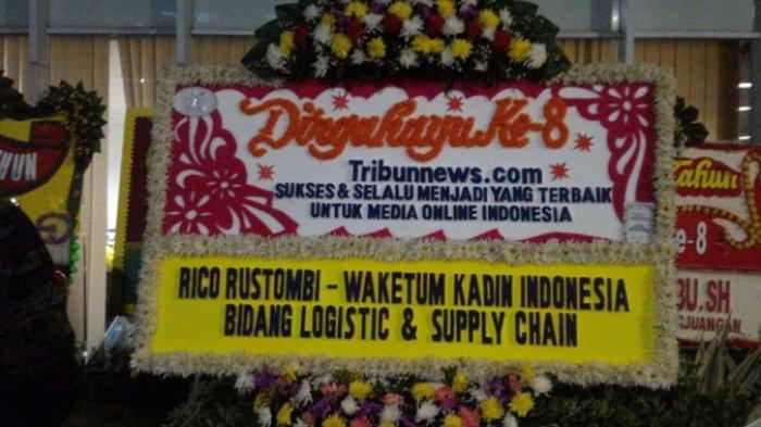 Wakil Ketua Umum Kadin Indonesia Ucapkan Selamat HUT ke-8 Tribunnews.com