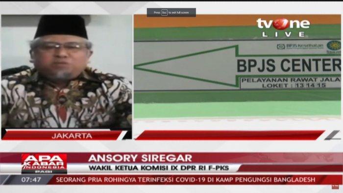 Wakil Ketua Komisi IX DPR RI F-PKS, Ansory Siregar