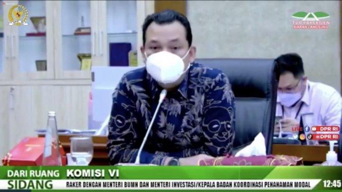 Saat Rapat Kerja, Pimpinan Komisi VI DPR Ingatkan Bahlil Permasalahan Toba Pulp Lestari