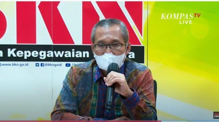 Wakil Ketua Komisi Pemberantasan Korupsi (KPK) Alexander Mawarta ungkap nasib dari 75 pegawainya yang tak lolos Tes Wawasan Kebangsaan (TWK).
