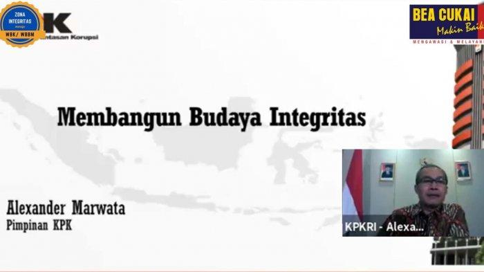 Apresiasi Wakil Ketua KPK untuk Bea Cukai dalam Hakordia 2020