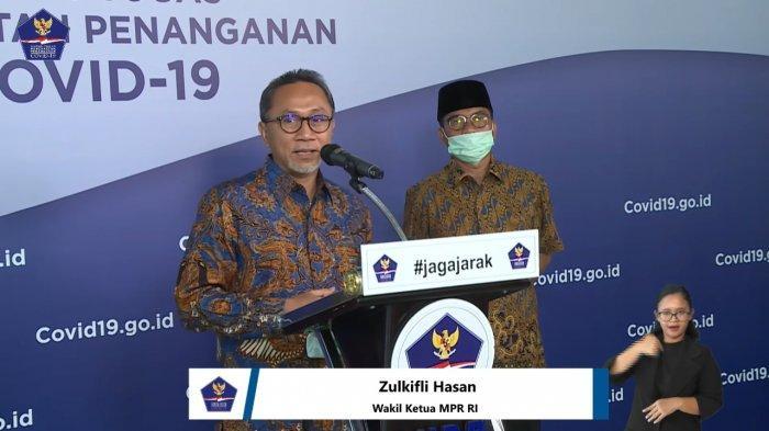 Wakil Ketua Majelis Permusyawaratan Rakyat Republik Indonesia (MPR RI), Zulkifli Hasan