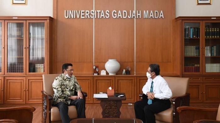 Temui Rektor UGM, Wakil Ketua MPR Fadel Muhammad Sampaikan Gagasan PPHN