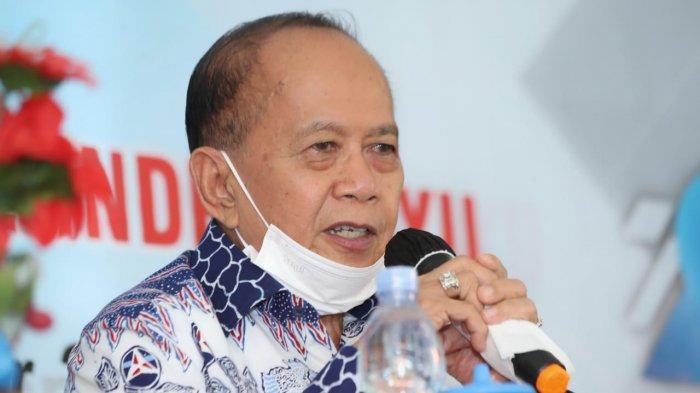 Wakil Ketua MPR, Syarief Hasan: Vaksin Booster untuk Nakes Sudah Sesuai Skala Prioritas