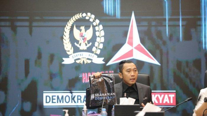 Kumpulkan Anggota Dewan Fraksi Demokrat, Ibas: Ayo Selamatkan Demokrasi!