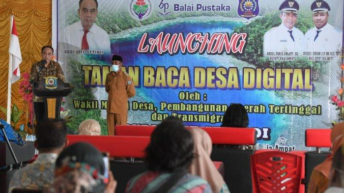 Kemendes PDTT dan PT Balai Pustaka Kerja Sama Program Seribu Taman Bacaan Desa Digital