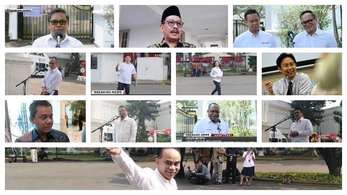 Foto para Wakil Menteri Presiden Jokowi 2019-2024 (Kolase Tribun)