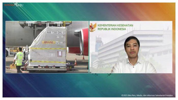 Wakil Menteri Kesehatan, Dante Kabarkan Hampir 1,2 juta Vaksin Tiba di Indonesia