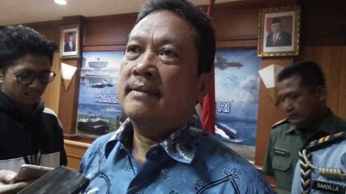 Wakil Menteri Pertahanan RI Sakti Wahyu Trenggono di Kantor Kementerian Pertahanan RI Jakarta Pusat pada Selasa (5/11/2019).