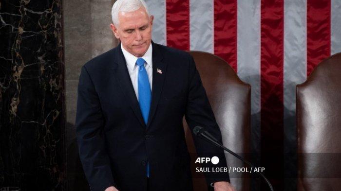 Foto Wakil Presiden AS Mike Pence.
