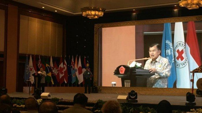 Wapres JK Bangga Indonesia Miliki Pasukan Perdamaian yang Diakui Dunia